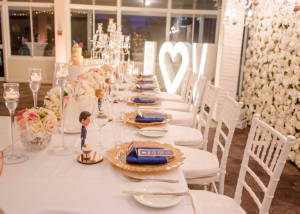 Side Wedding Head Table